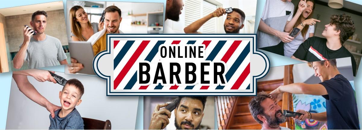 Stylen Sie Ihre Haare und Ihren Bart zu Hause ganz nach Ihren Wünschen.