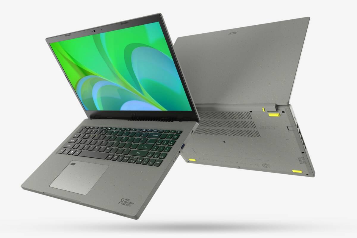 Acer stellt nachhaltiges Notebook vor