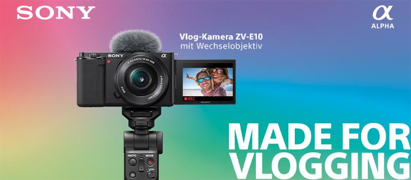 Sony stellt neue APS-C Kamera für Vlogger und Content Creator vor